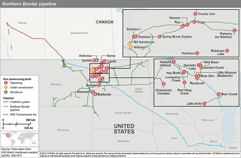 Northern Border pipeline