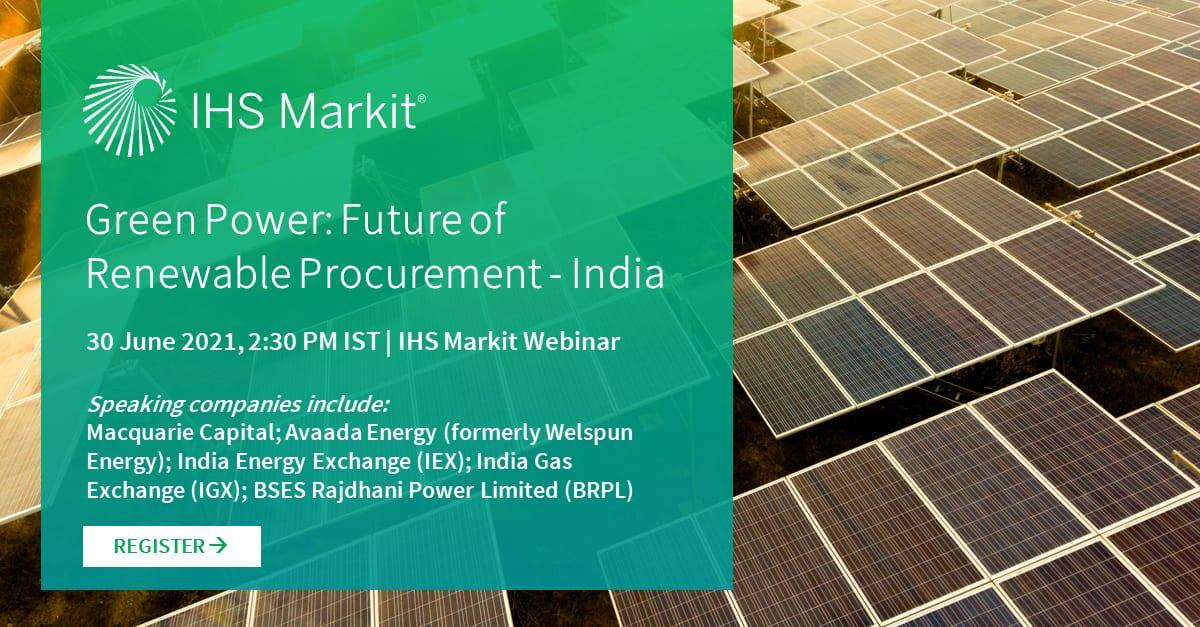 Green Power: Future of renewable procurement - India