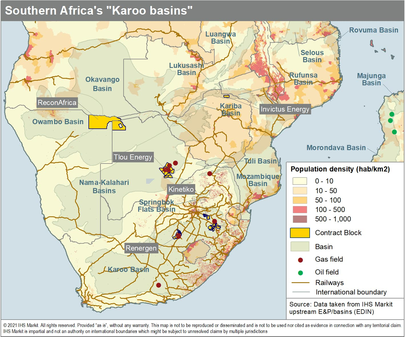 Southern Africa Karoo Basins