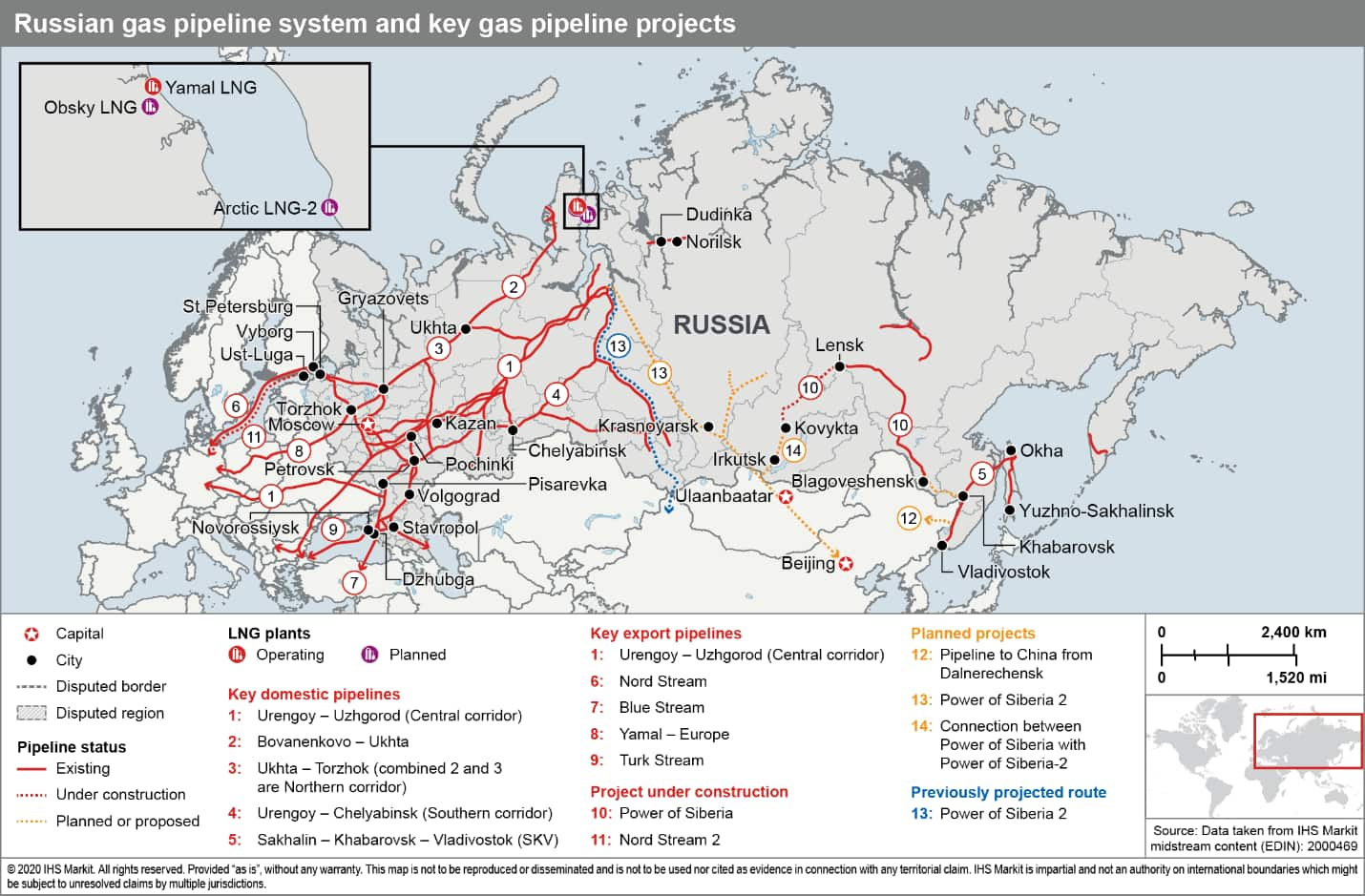 Picture of: New Gas From Russia To China Via Power Of Siberia 2 Pipeline New Route And New Strategic Opportunities Ihs Markit