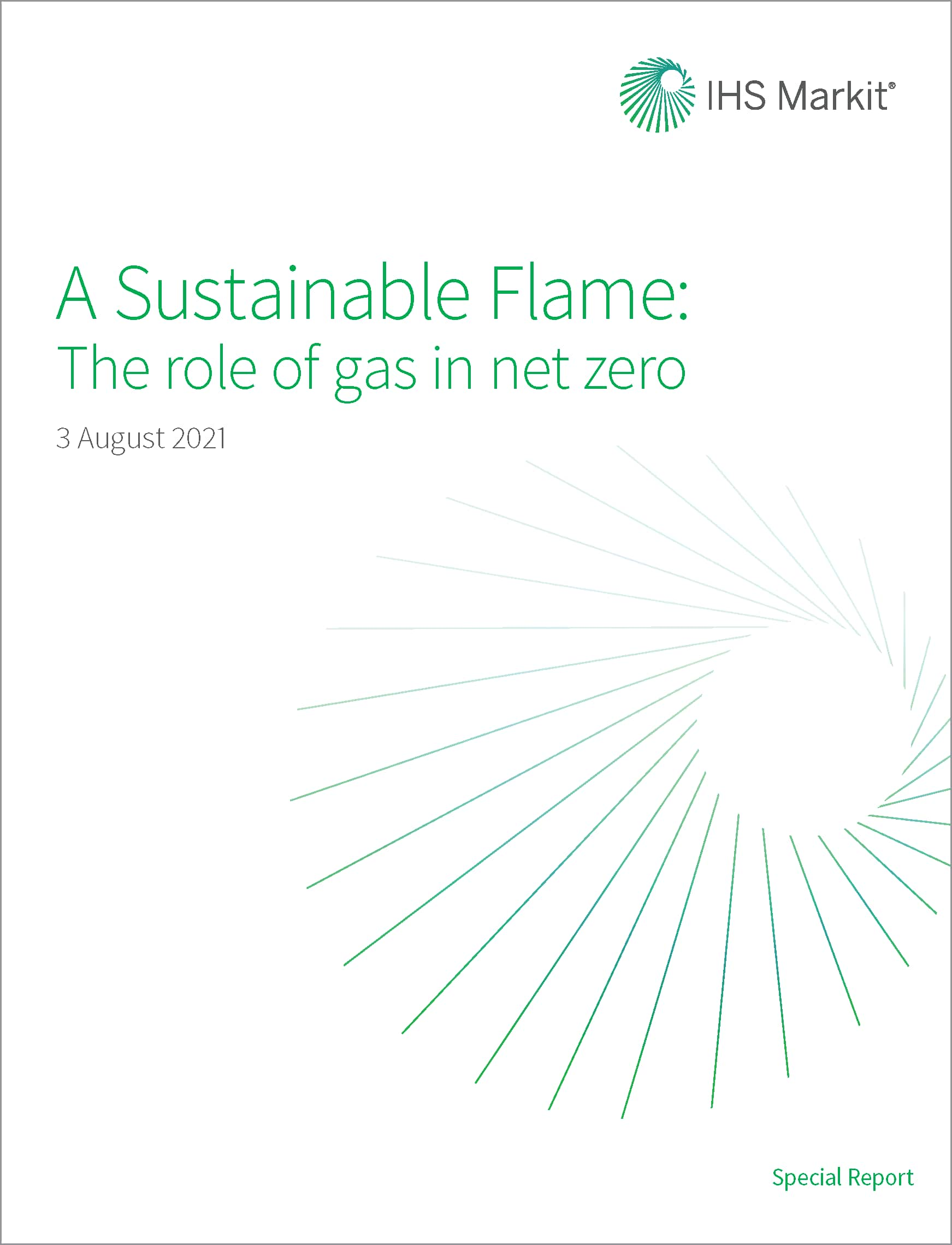 A Sustainable Flame