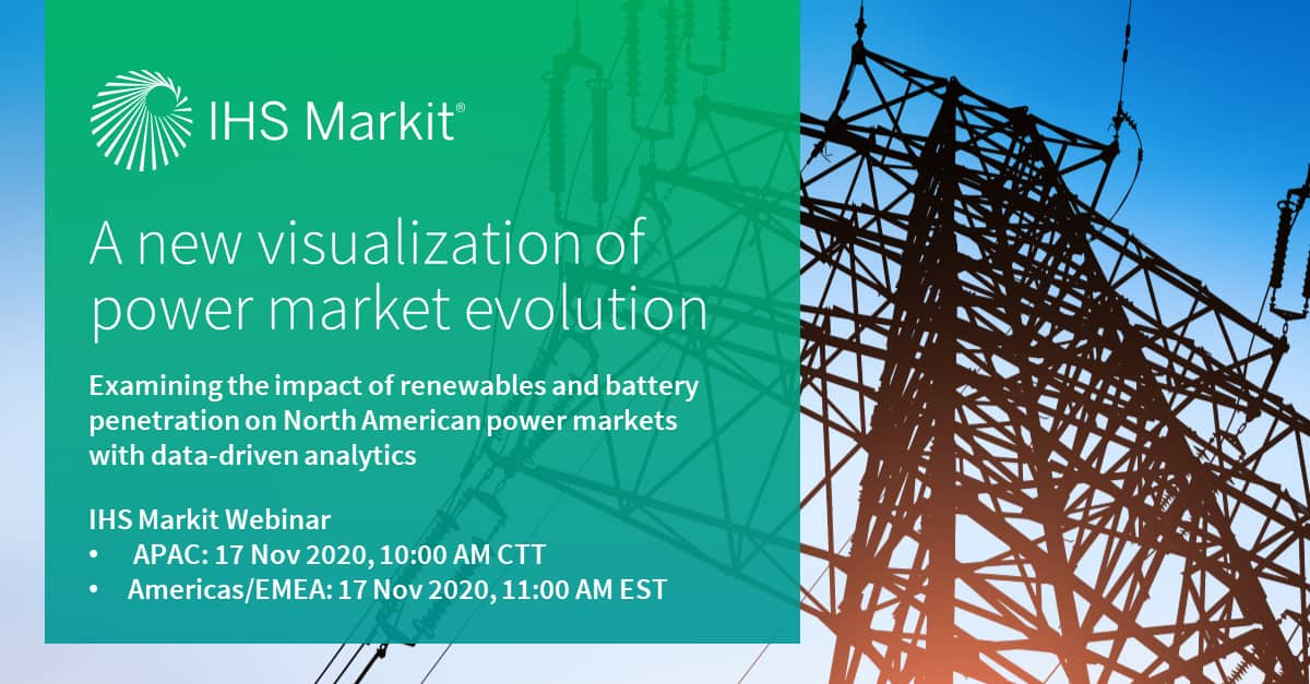 A new visualization of power market evolution: Examining the impact of renewables and battery penetration on North American power markets with data-driven analytics