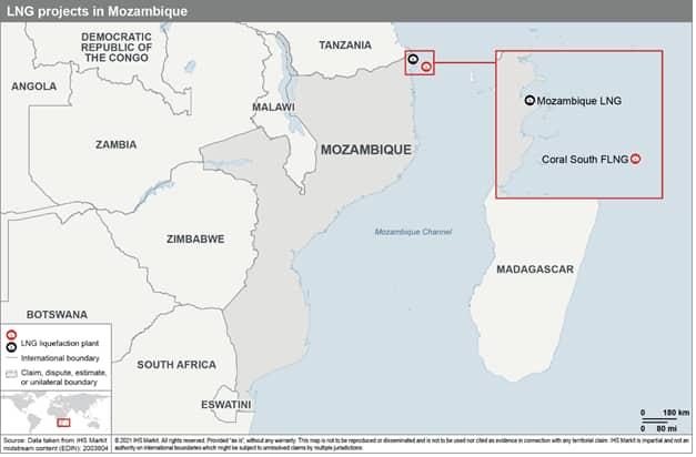 Mozambique insurgency map CRIM