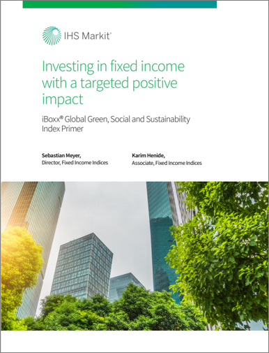 ESG Whitepaper: Investing in fixed income with a positive, targeted impact